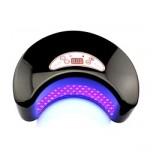 12W Black LED Lamp