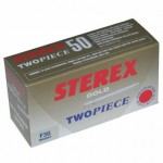 Sterex F2G Two Piece Needles Short Pk50 Gold