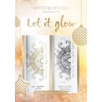 White to Brown Let it Glow Tan Gift Set MEDIUM